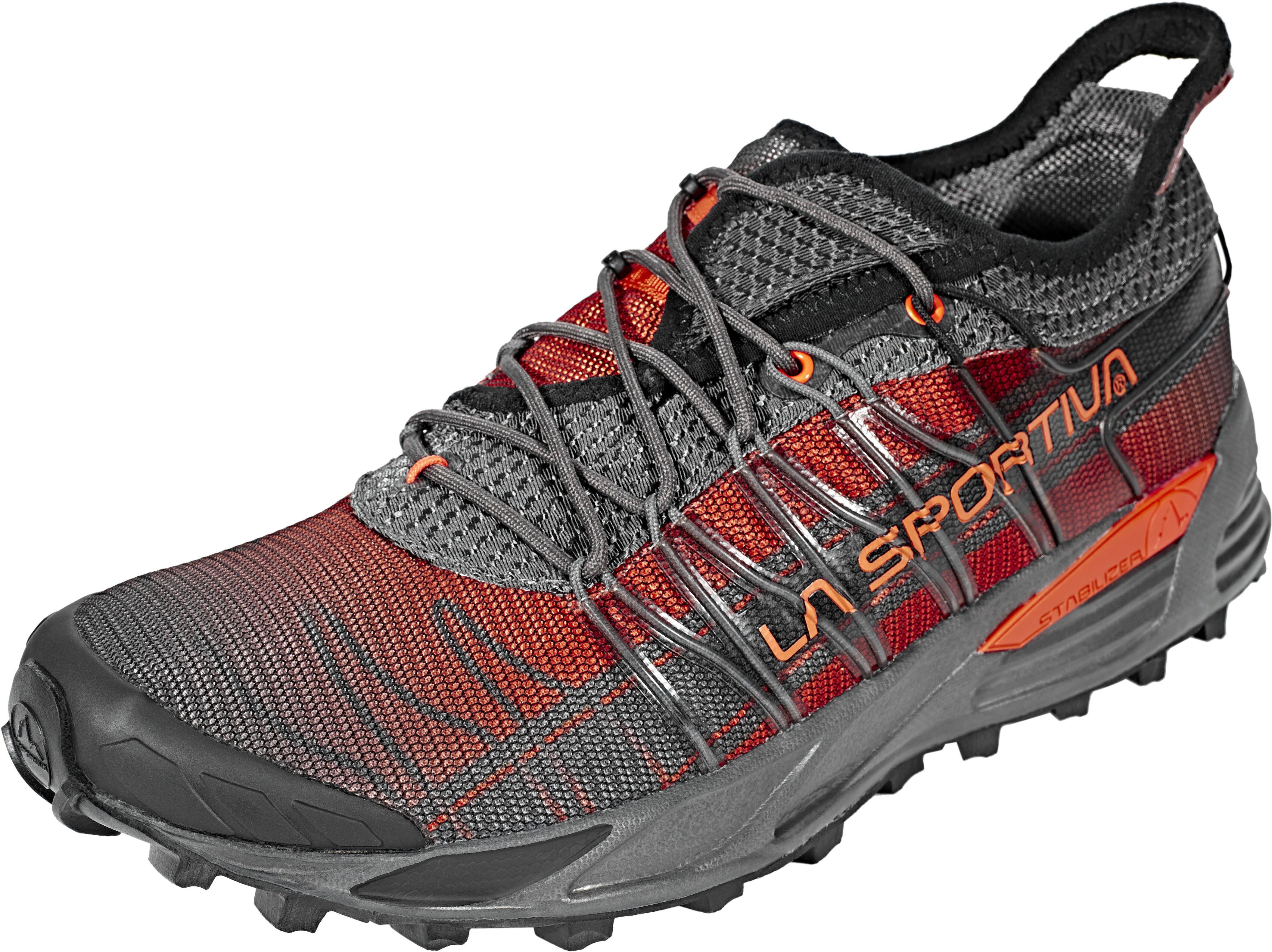 La Sportiva Mutant scarpe da corsa Uomo grigio rosso su Addnature e9f318bdea8